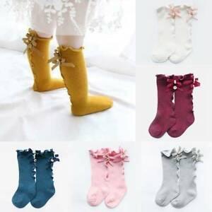 Chaussettes-Bebe-Flles-Chaussettes-Mi-hautes-Coton-Enfants-Plus-Chaudes