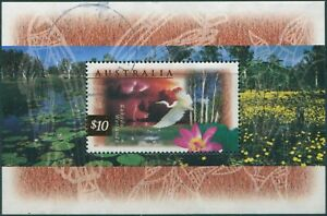 Australia-1997-SG1686a-10-Kakadu-Wetlands-MS-FU