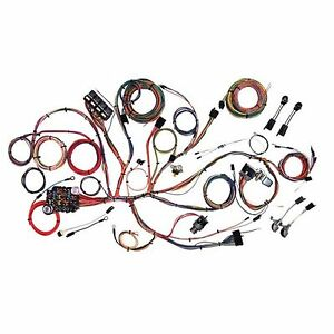 1966 mustang wiring harness kit 1966 image wiring complete wiring harness kit 1964 1965 1966 mustang american on 1966 mustang wiring harness kit