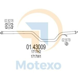 image is loading mts-01-43009-exhaust-peugeot-607-2-2-