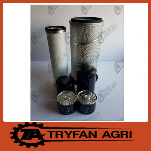 2 X FUEL FILTER FK5 TRACTOR FILTER KIT FOR FORD 6410//6610//6810