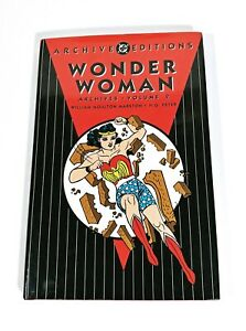 Wonder-Woman-Archives-Vol-2-DC-Hardcover-First-Printing-OOP-Golden-Age-Comics