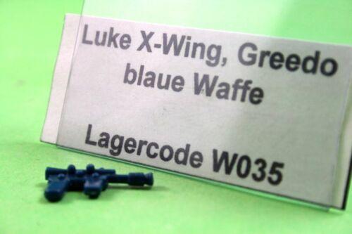 #s35 Luke Bespin blaster-arma//Weapon-Star Wars repuesto//accessory
