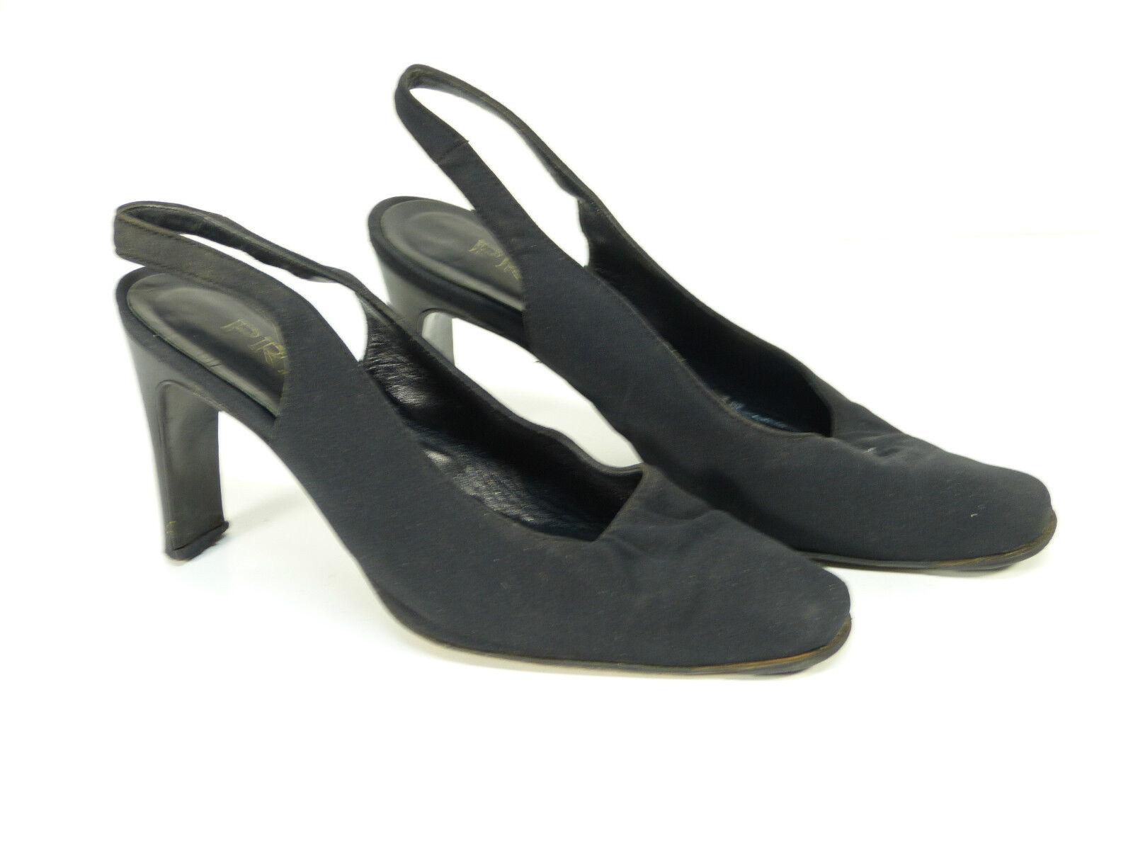 Prada de salón en /negro & lujo pur-noble (K 3801)
