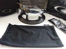 Oakley Evzero Path Polished Black Clear Black Iridium Photochromic NIB RARE