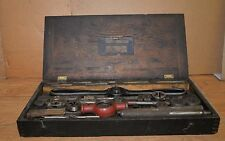 Huge Antique Bay State Tap Amp Die Set Blacksmith Machinists Tool Lot Collectible