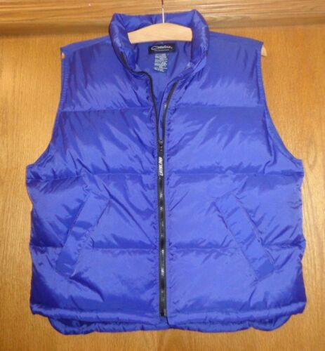 Woman's sz XL - Royal Blue DOWN VEST - Catalina -
