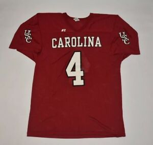 the latest 72583 18fef Details about Vintage University of South Carolina Gamecocks Football USC  Jersey Men XL
