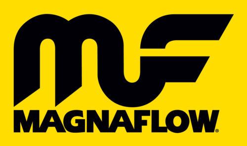 "Magnaflow 12775 Performance Muffler 4/"" Center//Center 7x7x14 Round Stainless"