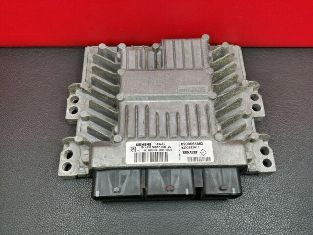 S122326109-A Renault Megane 1.5 DCI Motor ECU 8200592611 S122326109A 8200565863