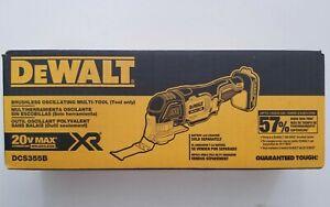 DEWALT DCS355B 20V 20 Volt Max XR Brushless Cordless Oscillating Multi-Tool NIP