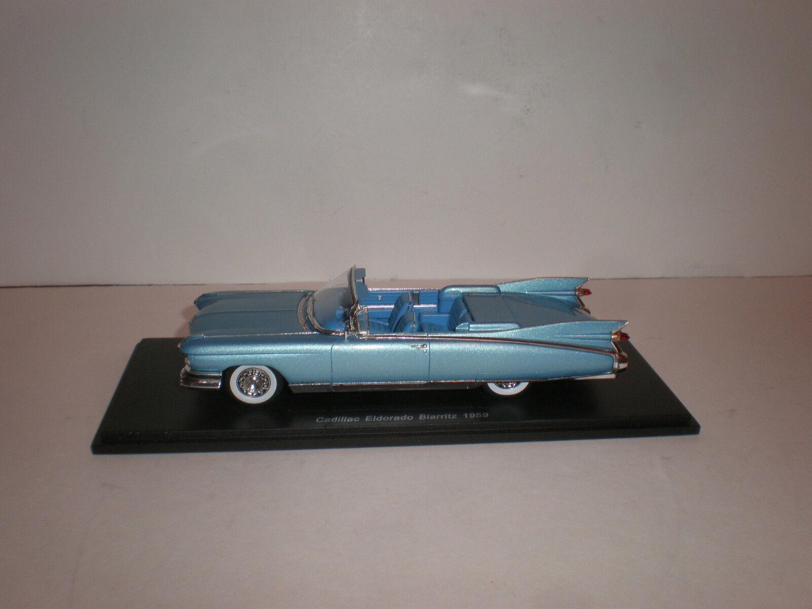 1 43 1959 Cadillac Eldorado Eldorado Eldorado Biarritz congreenible open    Spark 46462c