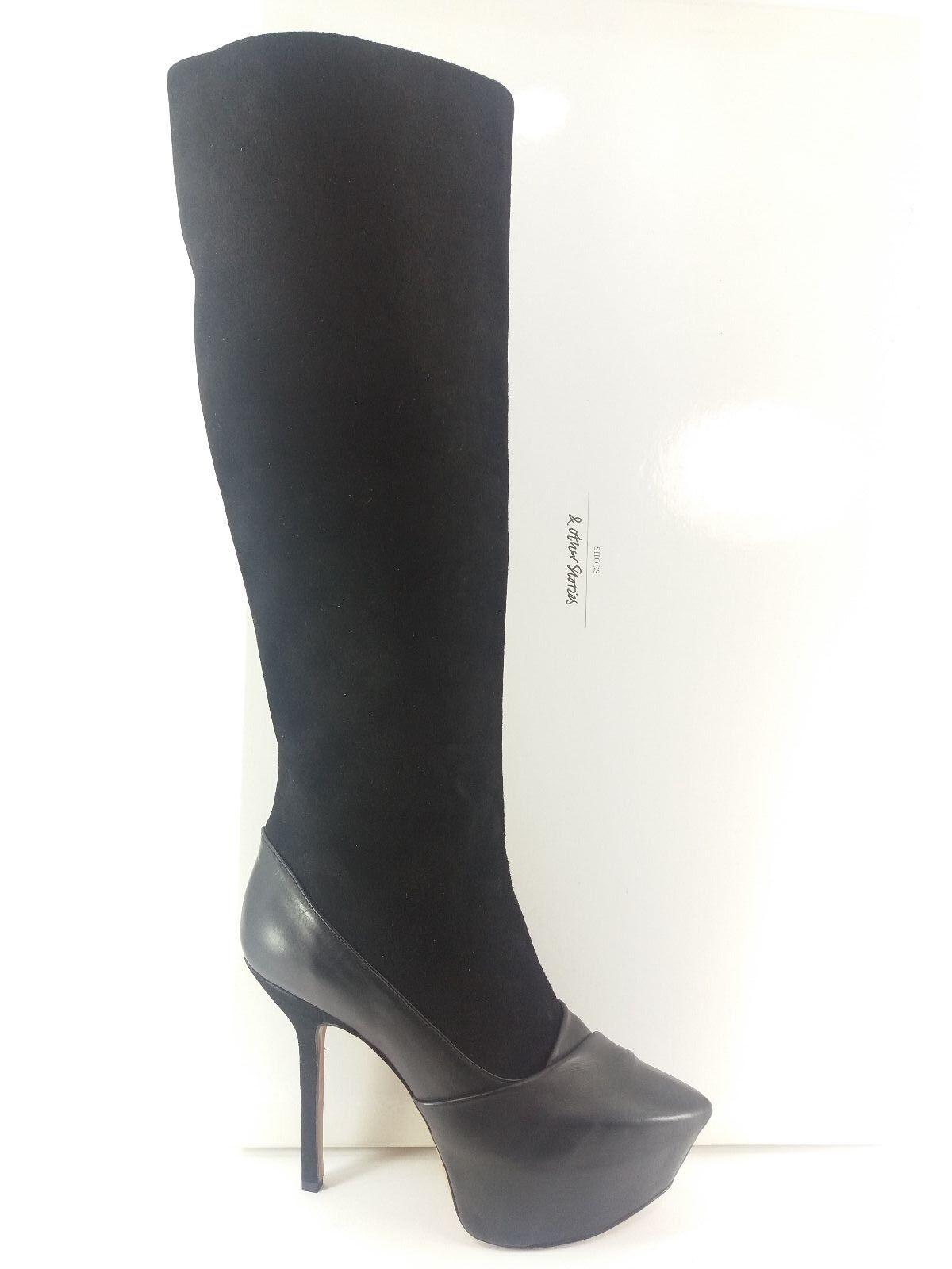 I16-OT femmeschaussures 39 bottes chaussures & OTHEN STORIES noir TAC 12 MADE IN ITALY