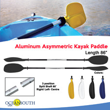 Aluminum Afloat Boat Kayak Paddles Double-ended Detachable Raft Canoe Oars Black