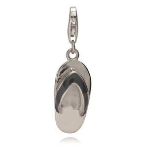 Rafaela-Donata-Damen-Charm-Anhaenger-echt-Silber-925-Sterling-Flip-Flop-Schuh