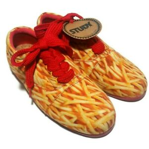 Urban Outfitters Study Sneakers French Fry Drop Print Women's Shoes Size