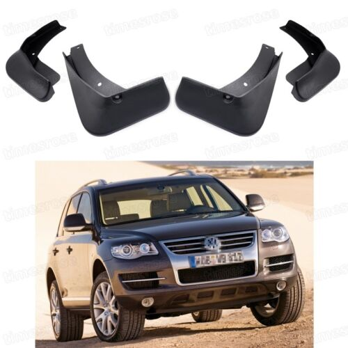 4pcs coche Barro Solapas Splash guardia Fender Guardabarros Para Vw Touareg 2007-2010 08 09