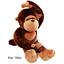 Giant-Huge-Large-Big-Stuffed-Animal-Soft-Plush-Brown-Monkey-Doll-Plush-Toy thumbnail 15