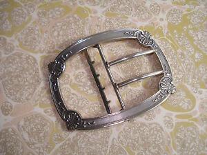 5d0e90ab3b98 Ancienne Boucle de ceinture en Argent massif   eBay