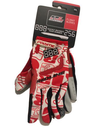 Redline bikes flight racing bmx Size Adult xx-large BMX 1pair dk MTB gloves