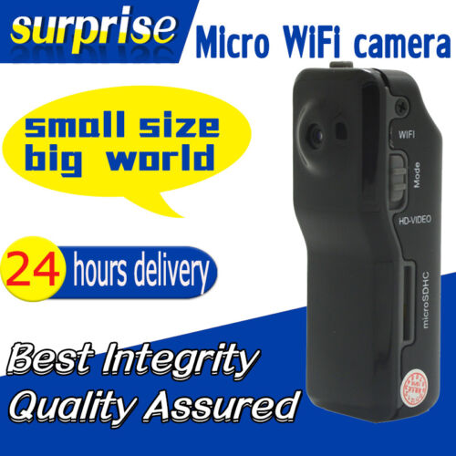 Wireless WIFI Spy Hidden Camera Mini Video Recorder cam P2P DVR Night Vision