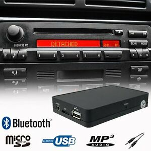 bluetooth music hands mp3 cd changer adapter bmw e36 e46 z3 image is loading bluetooth music hands mp3 cd changer adapter bmw