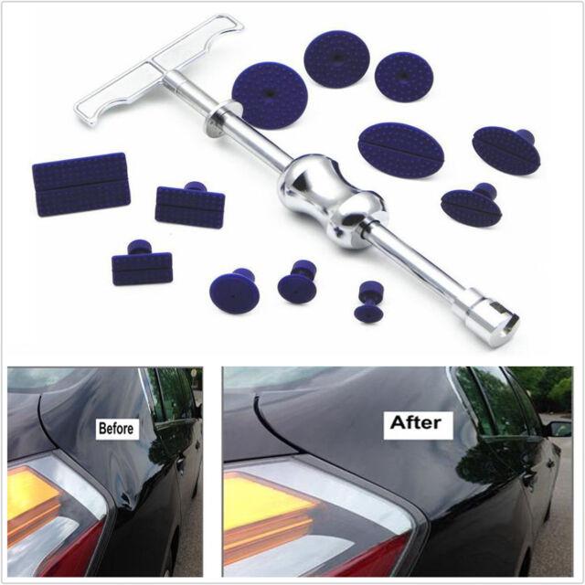 Body Paintless Dent Repair Hail Removal Tool Bar Slide Hammer Puller Tabs Tool