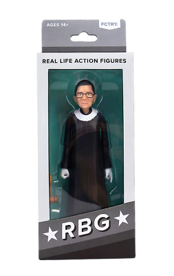 Ruth Bader Ginsburg RBG Real Life Action Figure FCTRY Brand New