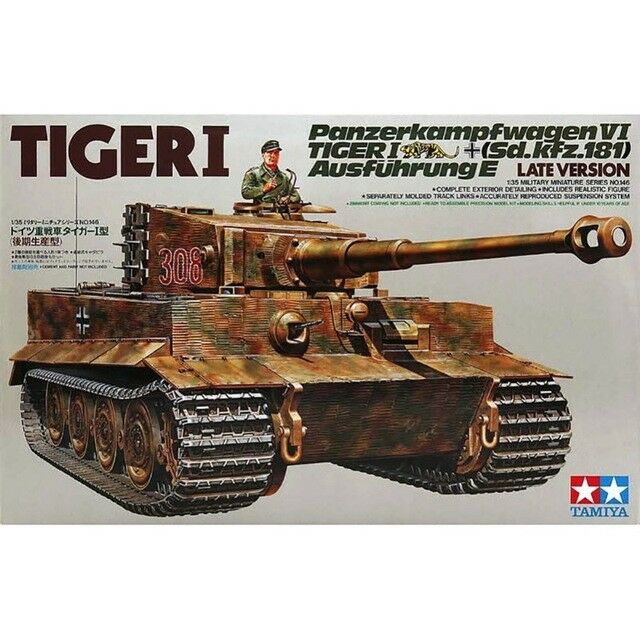 Tamiya 35146 German Tiger I Late Version 1 35