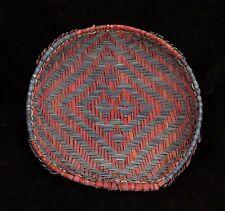 "Older Attractive Hopi Yucca Piki Tray Plaited Sifter Basket 14 1/2""d x 3""deep"