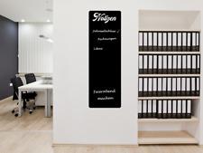 300x100 cm 66,00 € // qm Magnetische Tafelfolie für echte Kreide