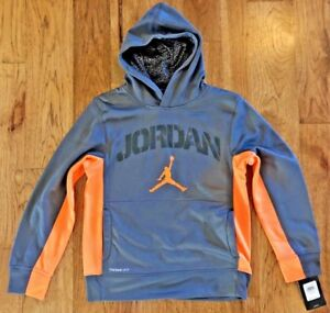 5686162476d NIKE Jordan Boys Therma-Fit Jumpman Pullover Hoodie 951326 Medium | eBay