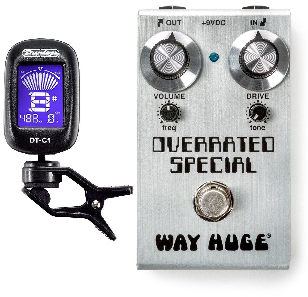 Huge Huge Huge Electronics Smalls Overrated WAY Mini Pedal De Overdrive WM28 (Special Sintonizador) d346f0