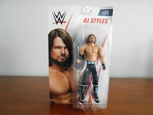 WWE-AJ-Styles-Series-95-Wrestling-Action-Figure-2018-NIP-7-in-Tall-Ages-6