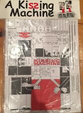 """Optical Toys 1998 Paper Kissing Machine """"New"""""""