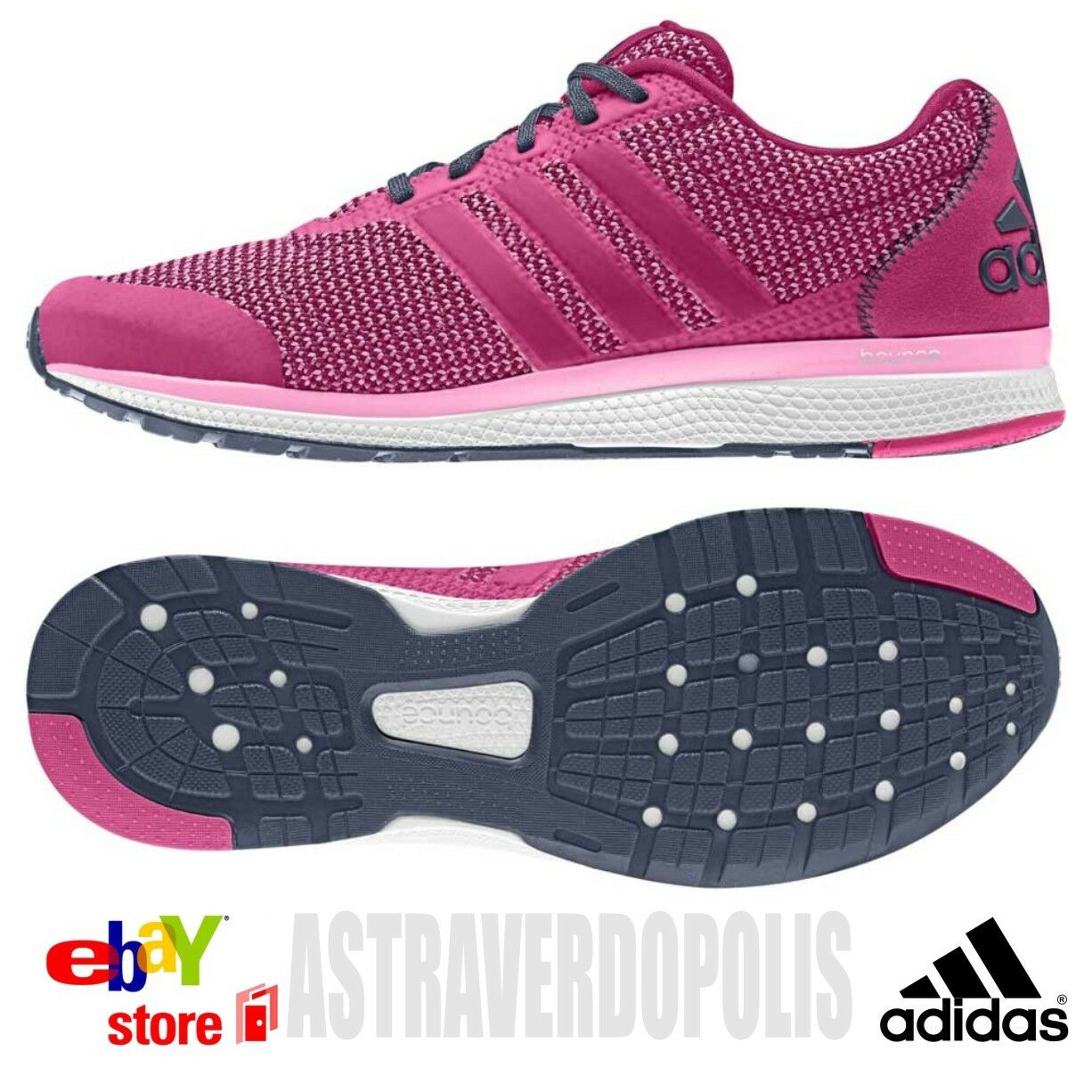 ADIDAS BOUNCE LIGHTSTER BOOST ULTRA ENERGY RUN WOMEN'S ATHLETIC SHOES US 8 8.5 9
