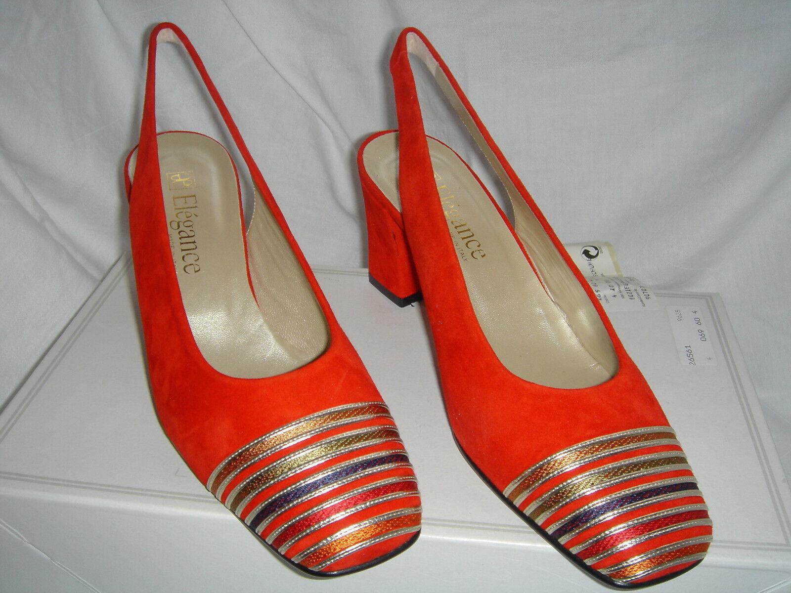 Damenschuh rot Größe 37 ae Elegance