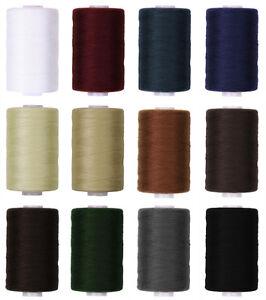 1-Rolle-Naehgarn-200m-No-30-300m-No-50-Jeansgarn-Ziergarn-Ledergarn-Polyester