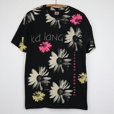 KD LANG Local Crew Vintage Shirt  *1992 Ingenue World Tour*