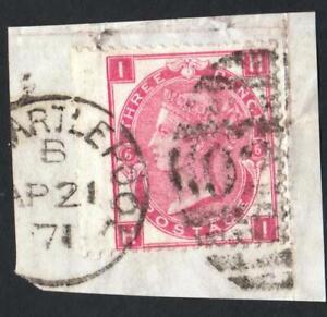 GRANDE-BRETAGNE-N-28-YEAR-1865-USED-CV-80