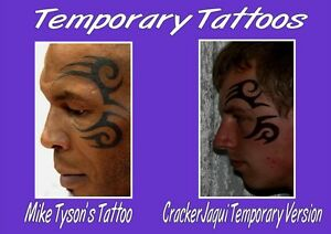 da7ccf8b2 Image is loading MIKE-TYSON-fancy-dress-HANGOVER-TEMPORARY-FACE-TATTOO-