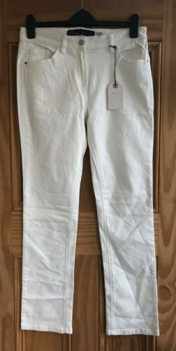 NEXT New White Slim Fit Stretchy Denim Jeans Petite Regular Tall XLong Size 6-22
