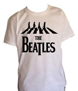 Infatigable Fm10 T-shirt Bambino 6 The Beatles Lennon Mccartney Starr Georg Musica