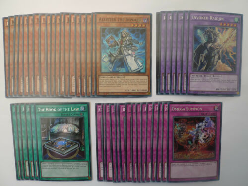 Invoked Deck Ready To Play Yugioh