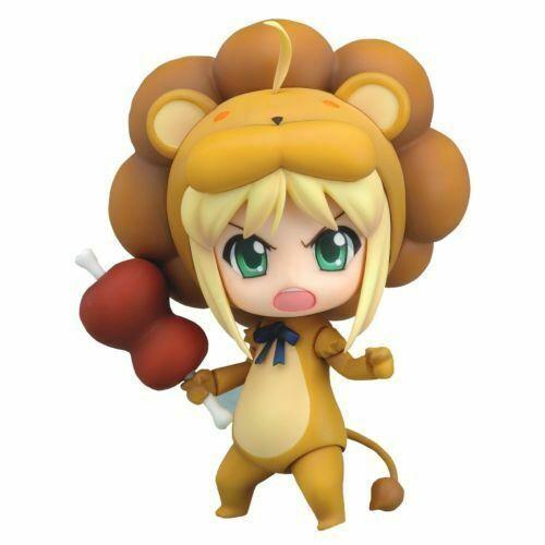 kb10 Nendoroid 050 Fate//Tiger Colosseum Saber Lion Figure from Japan
