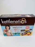 Kettlenetics Slim & Tone 2 Dvd's Plus 4lb Kettlebell 3 Workouts