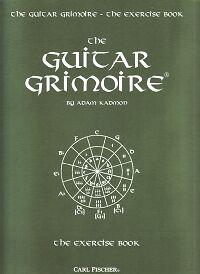 Guitar Grimoire Exercise Book-afficher Le Titre D'origine