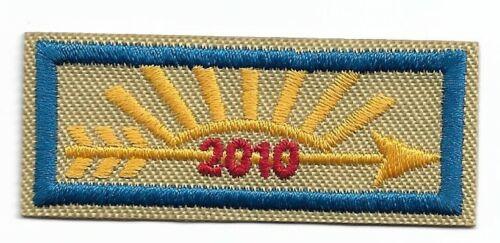 ARROW OF LIGHT MADE ONLY FOR 1 YEAR BSA 2010 CENTENNIAL RANK PATCH