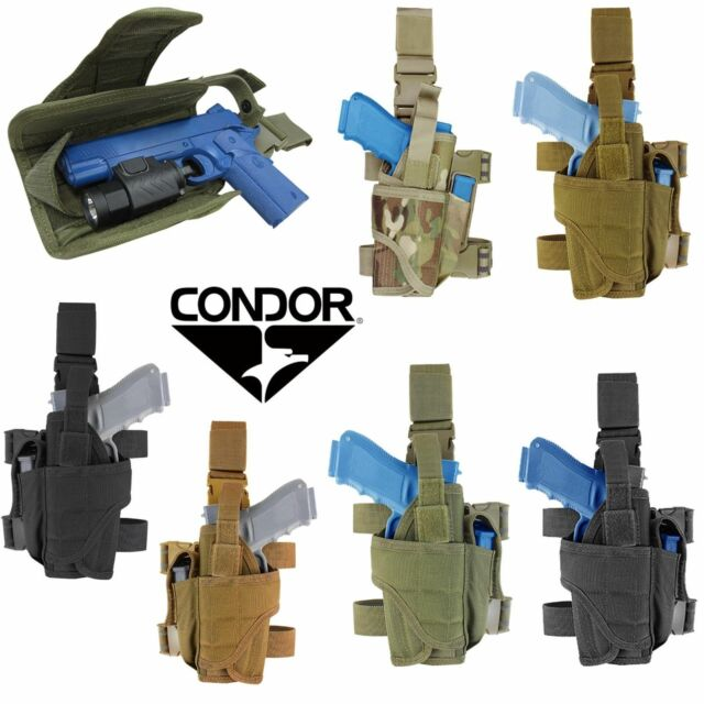Condor Tornado Tactical Drop Leg Pistol Holster Coyote Tan for sale online  | eBay