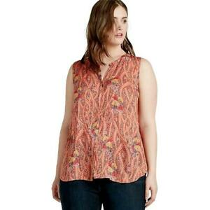 1cd4c44391b Lucky Brand  79.50 Scarf Paisley Feather Paisley Peasant Top Blouse ...